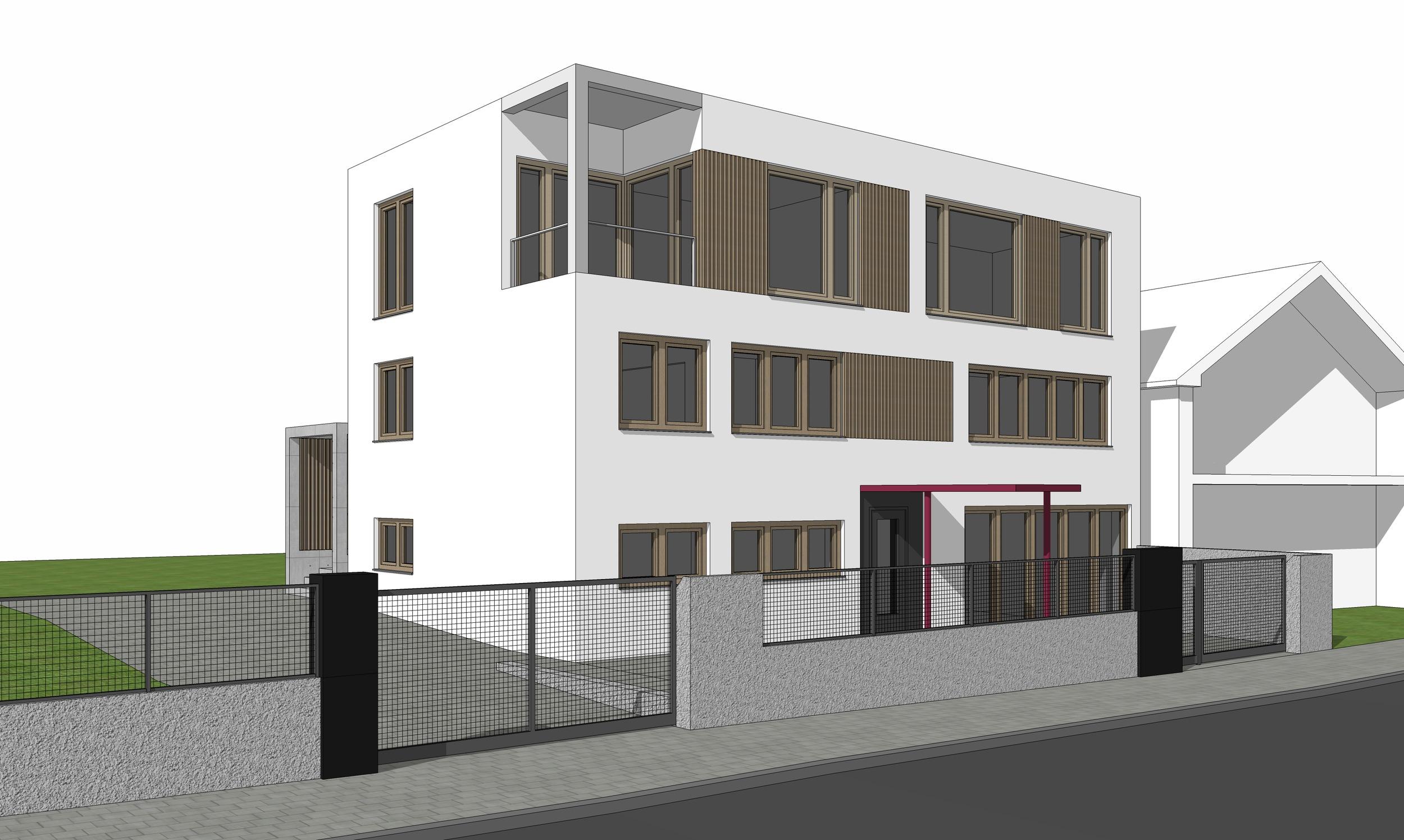 Prestavba funkcionalistického domu v Bojniciach