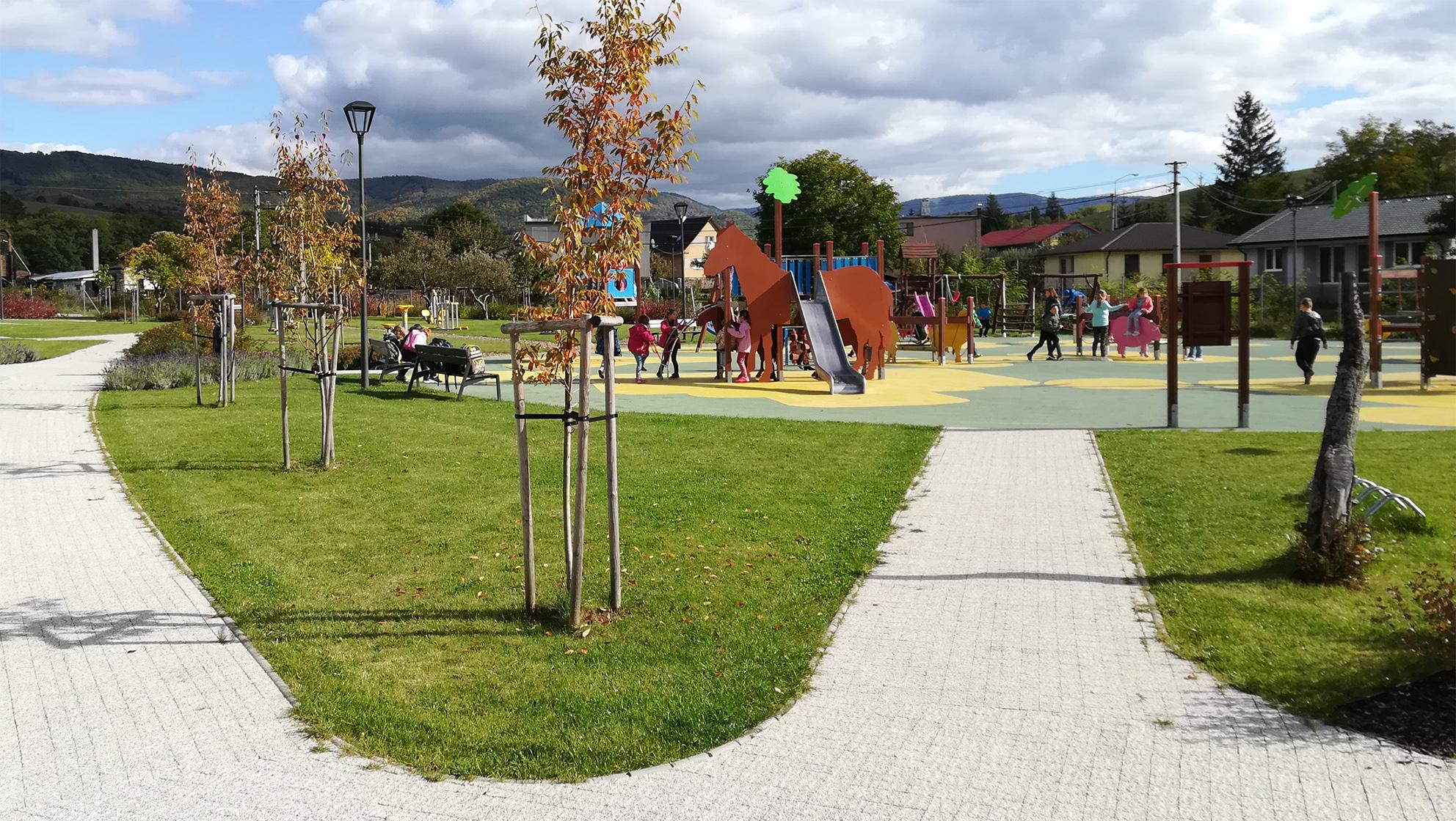 Revitalizácia obce Chrenovec-Brusno